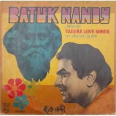 Batuk Nandy Tagore Love Songs On Electric Guitar 6405 632 LP Vinyl Record