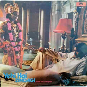 Yehi Hai Zindagi 2392 128 LP Vinyl Record Made In